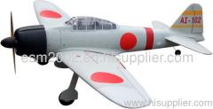 RC MODEL PLANE ARF ZERO FIGHTER 21#