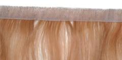 skin weft PU weft 100% hand tied hair weft