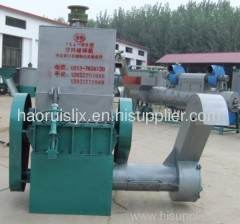 plastic crusher with cleaning function