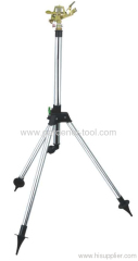 Garden Water Sprinkler With Telescopic Tripod.