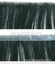 100% hand tied human hair skin weft/PU weft