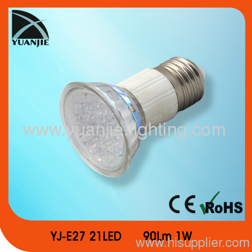 1w gu10 21lSMD suction cup led lamp