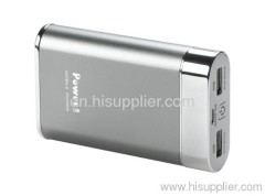 8000MAH Power bank portable mobile phone charger dual USB