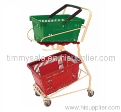 Rolling Shopping Basket Cart for Supermarket Grocery trolleys/trolley for stairs