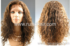 human hair ladies lace wigs