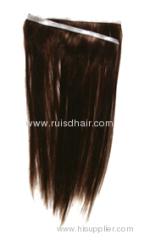 human hair hand tied skin weft/PU weft