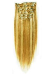 clip in hair extension(clip on hair extension)