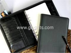 New fashion pu leather A5 diary organizers