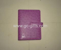 2013 hot sale pink ostrich organizer diary