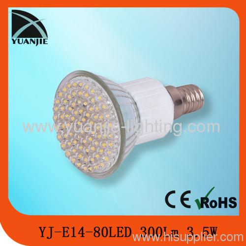 3.5w 80led E14 led spot light lamp