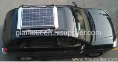 RV EV car roof mounted solar panel pv module