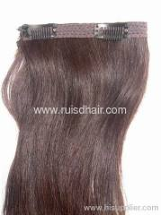 clip in hair extension/hair extension with clips