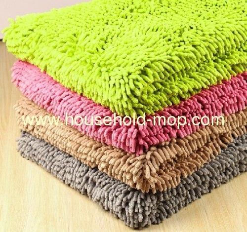 Small Chenille Mat microfiber mat soft strong absorbent