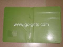 A4 sized green file folder