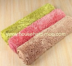 Home Fashions Plush Microfiber Bath Mat With Memory Foam