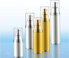 Airless bottle Full aluminum package