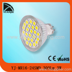 led maunufacturer mr16 glass smd led lamps