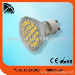 gu10 5050 24 smd spot lamp