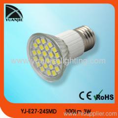 E27 5050 24 smd spot lamp