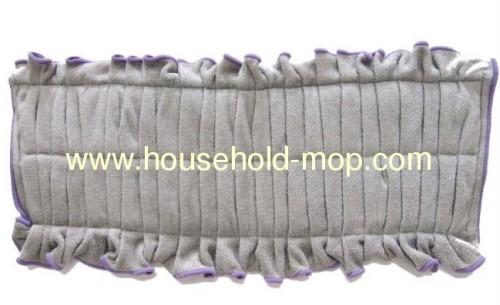 Microfiber Mop Pad 100Ct Box Color-Coded Velcro