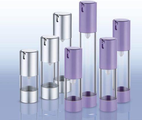 plastic press pump airless bottle