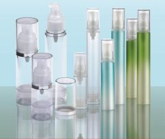 tubule airless bottle plastic package