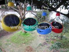 Rainproof LED solar light bulb
