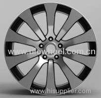 alloy rims in machined face
