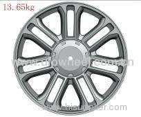 alloy rims in silver finish