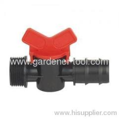 plastic irrigation valve Φ22mm X3/4""