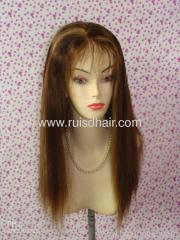 lace full human hair wigs