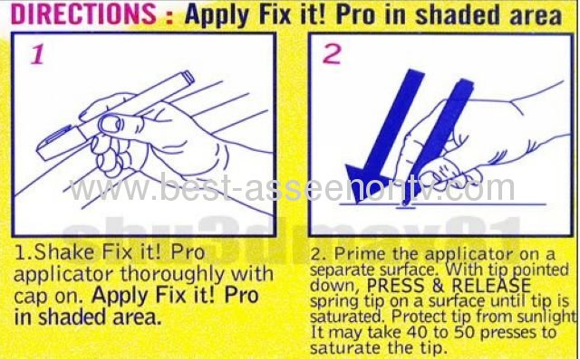 Fix it pro painting pen car scratch repair from china manufacturer ningbo haixi appliance