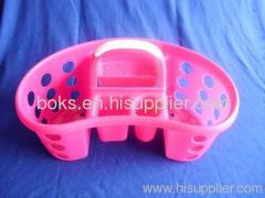 popular plastic shower handle basket