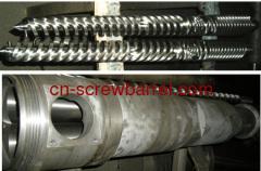 Conical Twin Screw Barrels