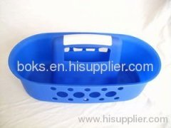 plastic bath handle basket