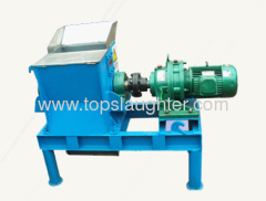 Rendering plant equipments Raw material crusher
