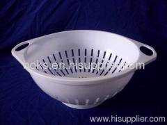 white hot sell plastic strainer basket