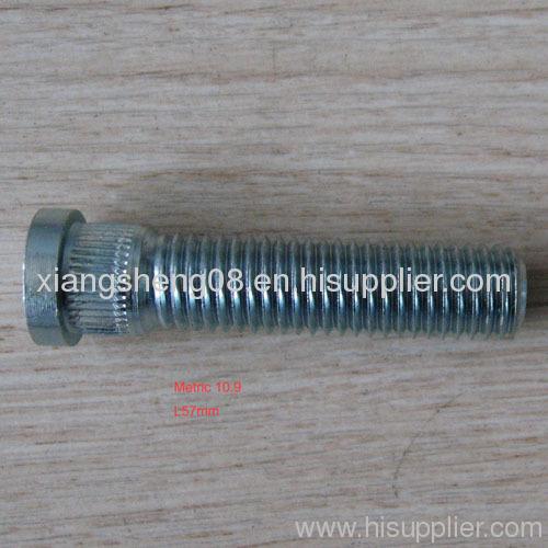 knurl stud L57mm length