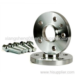silver anodized wheel spacer