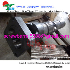 conical twin screw barre
