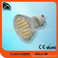 indoor energy saving gu20 3w smd led lamp