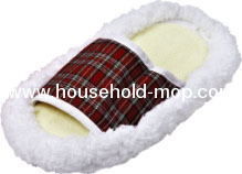 Multi-function floor Cleaning chenille slippers