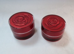 Cream jar rose jar acrylic package