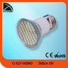 E27 led spotlights 3w smd led lamp led 3528