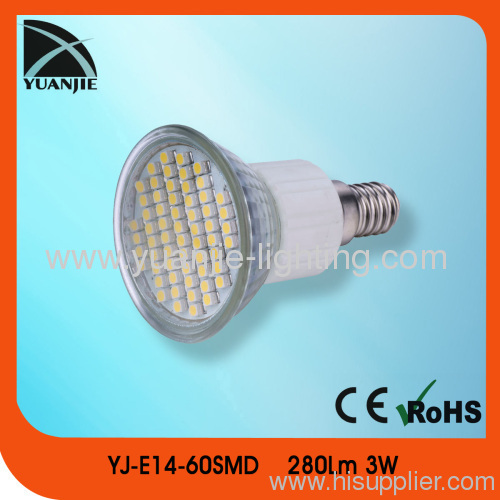 3w E14 smd led lamp