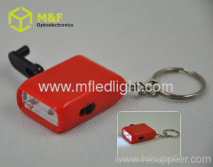 led promotional keychain light