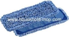Micro fiber chenille mop cloth floor dishclout clip mop