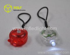 ABS led flashlight keychain