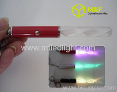 flashing light stick keychain