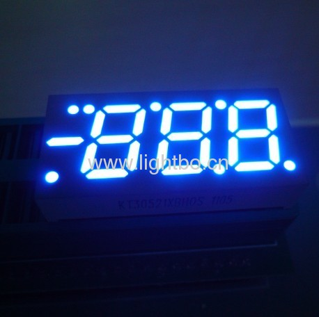 0.52 inches common anode high bright red 3 digit 7 segment led numeric display for air conditioners